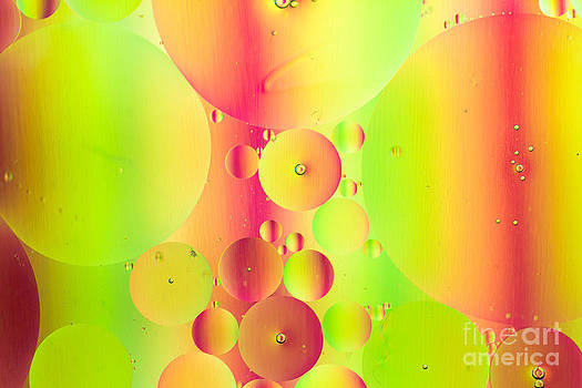 Bubble Abstract by Ursula Lawrence