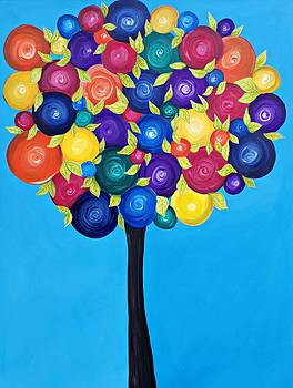 Bubble Berry Tree by Tracie Davis