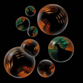 Bubble Farm Fractal by Kathleen Holley