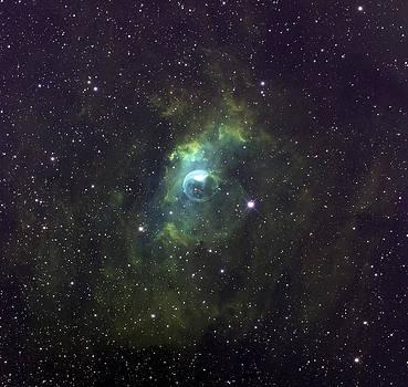 Bubble Nebula by Mike Hankey