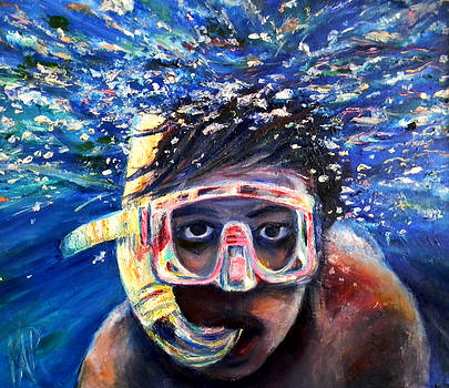Bubbleboy by Art by Kar