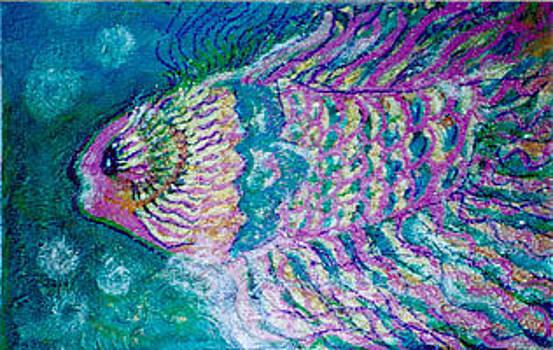 Anne-Elizabeth Whiteway - Bubbles and Happy Fish