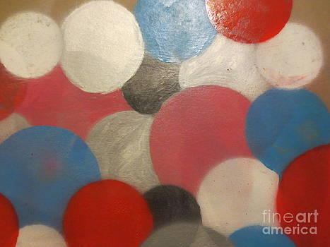 Bubbles at Mezzaluna's Party Room  by Sandra Spincola