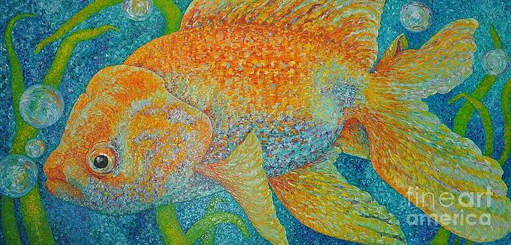 Bubbles the Gold Fish by Sloane Keats