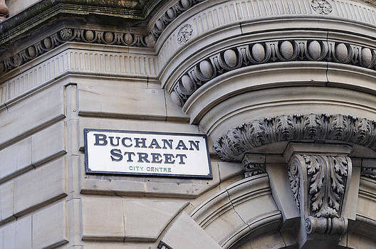 Buchanan Street Glasgow by Norman Pogson