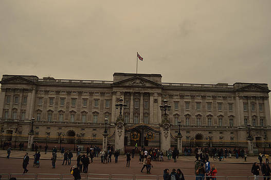 Buckingham Palace by Alexander Mandelstam