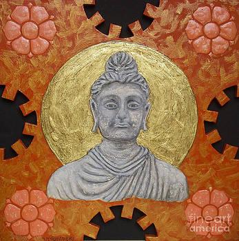 Buddha by Anna Maria Guarnieri