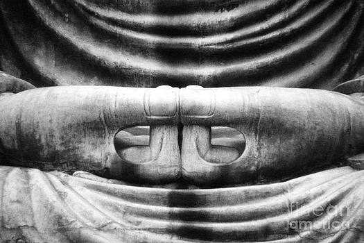 Buddha Hands at Kamakura by Gerald MacLennon