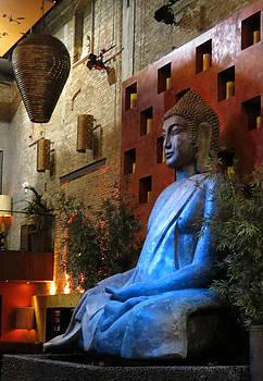 Buddha in Blue by Ricardo Antoni