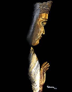Buddha by Judy M Watts-Rohanna