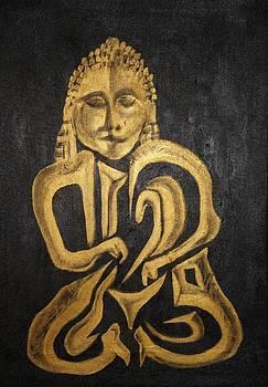 Buddha Metallica by Pius Kendakur