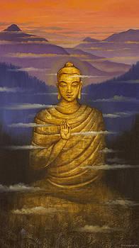 Vrindavan Das - Buddha. Passing clouds
