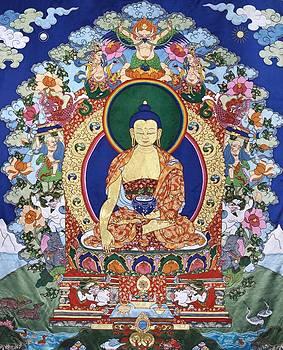 Buddha Shakyamuni and the Six Supports by Leslie Rinchen-Wongmo