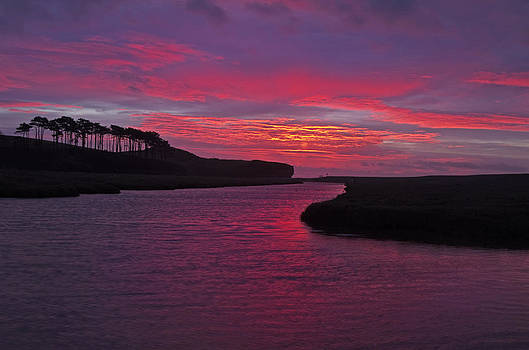 Budleigh Salterton at Dawn by Pete Hemington