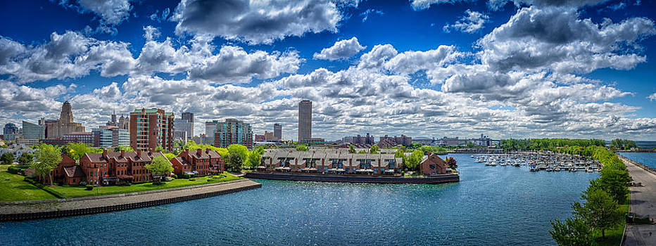 Buffalo New York USA by Anthony Morganti