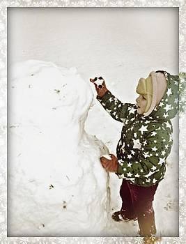 Building A Snowman by Emma Sechrest
