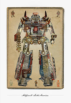 Built American Tough Robot No.2 by Jeff Steed