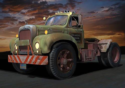 Bulldog Sunset by Stuart Swartz