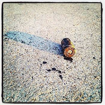 Bullet On Pulaski. #baltimore #finds by Matthew Saindon