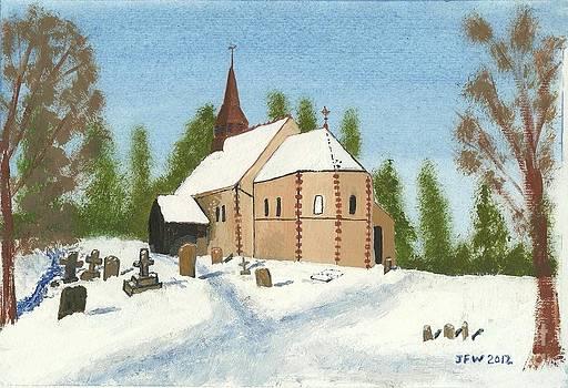 Bulley Church by John Williams