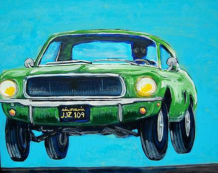 Bullitt Mustang by Mitchell McClenney