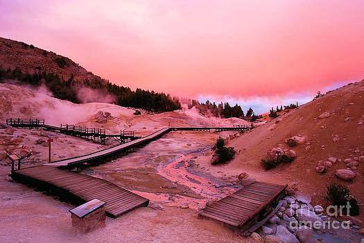 Adam Jewell - Bumpass Hell Sunset