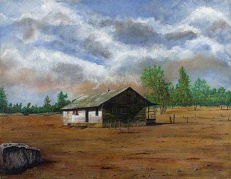 Bunk house Cheyenne Wy by Stuart B Yaeger