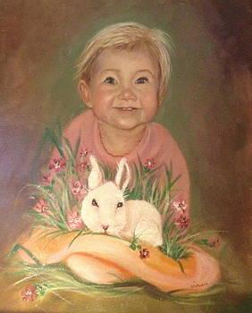 Bunny Rabbit by Sharon Schultz