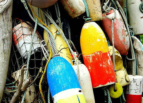 Buoys by Mamie Gunning