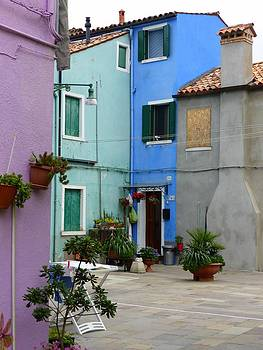 John Tidball  - Burano Courtyard