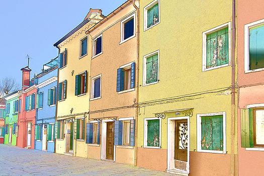 Burano Island Italy by Indiana Zuckerman
