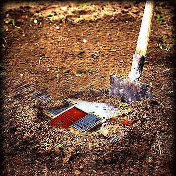 Buried Guitar by Iliyan Stoychev