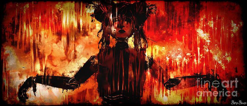 burning Armor by Sina Souza