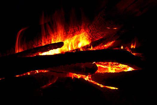 Burning Blaze by Wendell Ducharme Jr