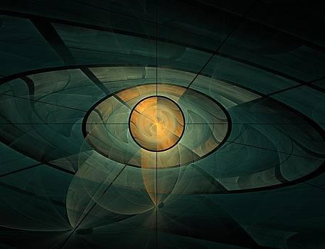Burning eye by Verginiya Ivanova