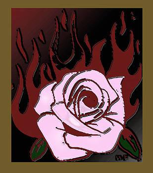 Burning Rose by Herbert French