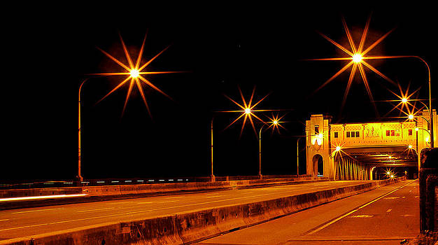 Burrard Street Bridge Vancouver BC by Brian Chase
