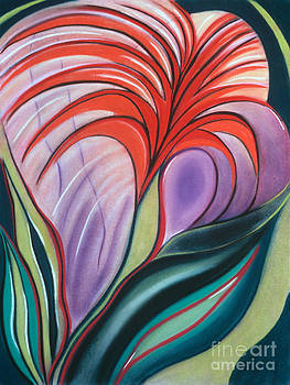 Bursting Blossoms by Birgit Seeger-Brooks