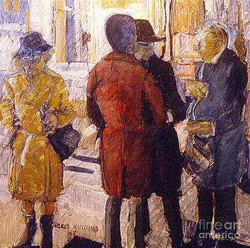 Bus Stop Gossip by Charles M Williams