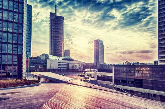 Business sunrise by Yevgeni Kacnelson