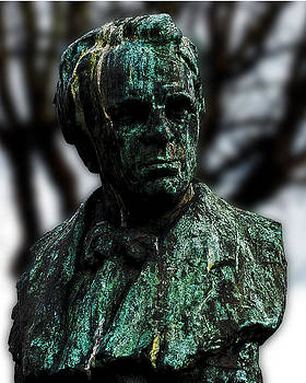 Bust of William Butler Yeats by Frank Gaffney