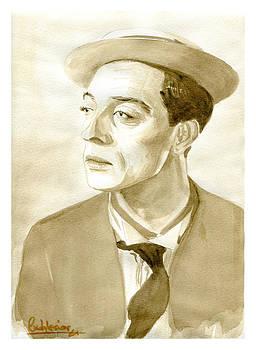 Buster Keaton by David Iglesias