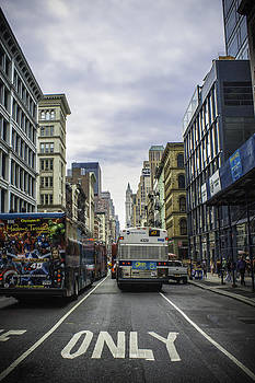 Bustling SOHO by Brent Roberts