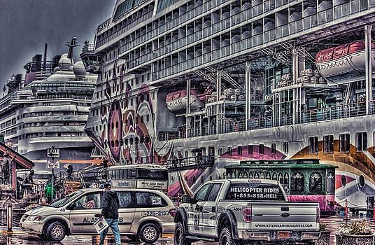 Busy Dock by Timothy Latta