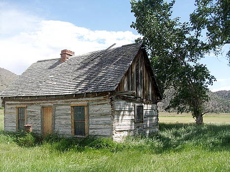 Butch Cassidy Childhood Home by Donna Jackson