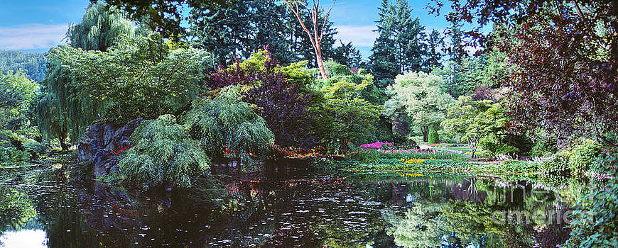 David Zanzinger - Butchart Gardens is a group of floral display Brentwood Bay