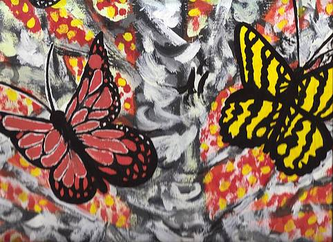 Butterflies and Trees by Richard Erickson