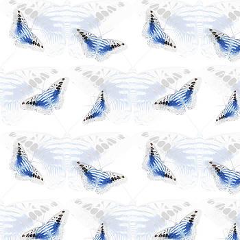 Butterflies in Blue by Jocelyn Friis