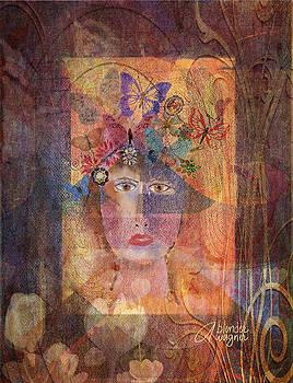 Butterflies In Her Hair by Arline Wagner