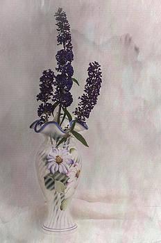 Butterfly Bush Blooms II by Cheryl McCain